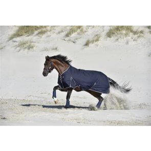 Rider by Horse Sport Overgangsdækken 100gr. Navy