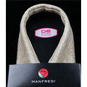 Manfredi krave sandfarvet slangeskind