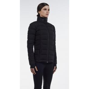 Cavalleria Toscana A-line Puffer Jacket Sort