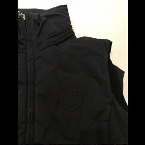 Cavalleria Toscana Sabre Sleeveless Jacket sort