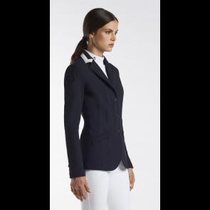 Cavalleria Toscana 3 colour collar riding jacket navy