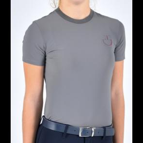 Cavalleria Toscana elastic band t-shirt grå JR