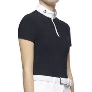Cavalleria Toscana Team S/S Competition Polo Hvid JR