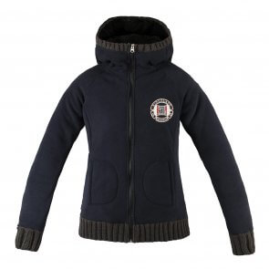 Kingsland Angela fleece jakke navy