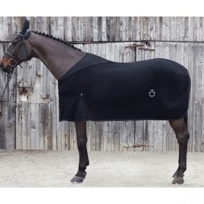 Cavalleria Toscana Kendo Pile Fleecedækken sort