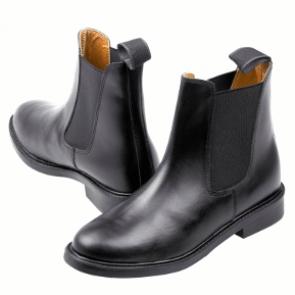 Jodphur ridestøvle i læder