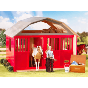 Breyer Two stall wood barn