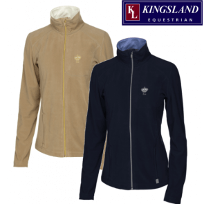 Kingsland dressage fitted fleecejacket Beige