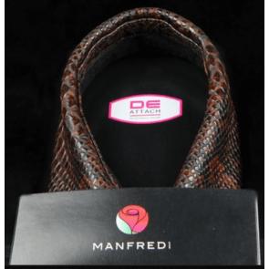 Manfredi krave brun slangeskind