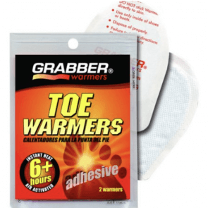 Grabber hot toe warmers