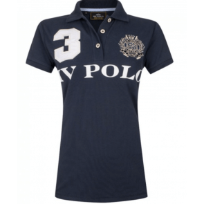 HV polo Favoritas EQ navyblå