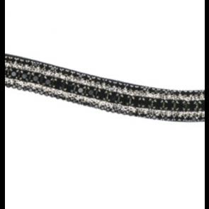 Eques exclusivt pandebånd sort/hvid/sort/hvid/sort