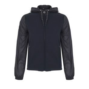 Cavalleria Toscana Shadow Nylon Windbreaker Navy