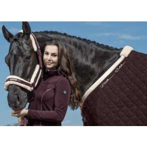 Eskadron Sweat Rug Acryl Quilt Bordeaux