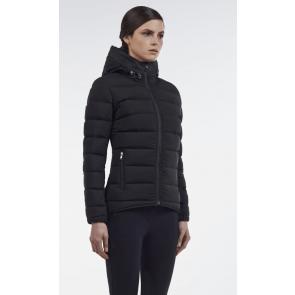 Cavalleria Toscana Triple Zip Hooded Puffer Jacket Sort