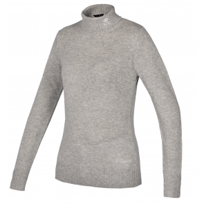 Kingsland Tok Knitted Sweater Lysegrå