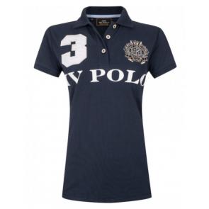 Hv polo Favouritas kortærmet navyblå