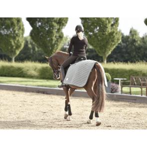 Rider by horse lændedækken Thyme green