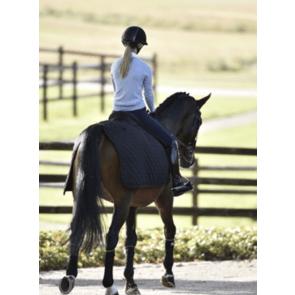 Rider by Horse Platinum lændedækken sort