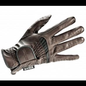 Uvex Ridehandske Twinflex Brun