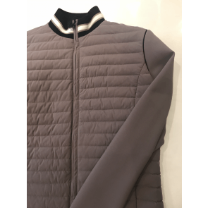 Cavalleria Toscana detachable sleeve down jacket mud