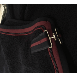 Anna Scarpati bamsedækken navy/bordeaux