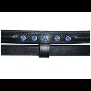 Hilbar kombineret næsebånd med 5 blå sten