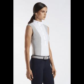 Cavalleria Toscana Techn Shirt W/BIB Sleeveless grå