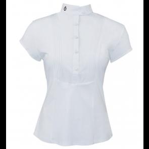 Cavalleria Toscana Techn Shirt W/BIB kortærmet hvid