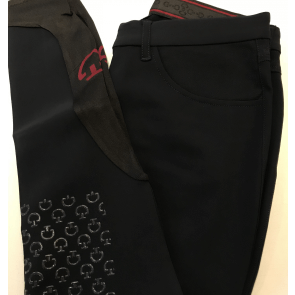 Cavalleria Toscana Micro Perforated Breeches navy