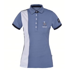 Kingsland Waverly Ladies Tec Pique Polo Shirt Flintstone