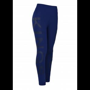 Kingsland Karina W-tec K-grip comp tights blue depths