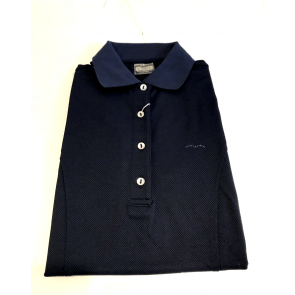Animo Brandy sleeveless polo navy