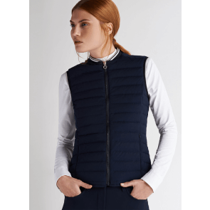 Cavalleria Toscana Quilted Front/Flat Back Vest