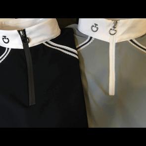 Cavalleria Toscana elastic band polo grå JR