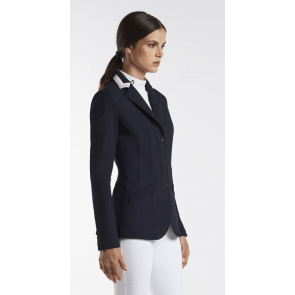 Cavalleria Toscana 3 colour collar riding jacket navy