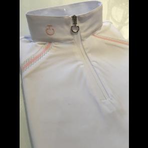 Cavalleria Toscana elastic band polo hvid Junior