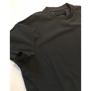 Cavalleria Toscana Degrade Perforated Insert t-shirt grå