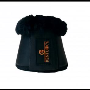 Kentucky læderklokke med kunstig fåreskindsforing