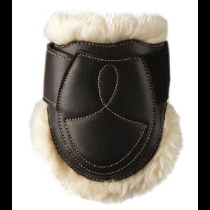 Kentucky bagbensgamacher læder og fåreskind sort