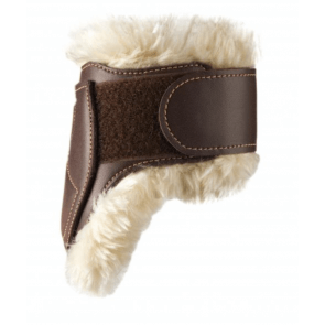 Kentucky bagbensgamacher læder og fåreskind brun