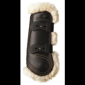 Kentucky forbensgamacher læder og fåreskind sort