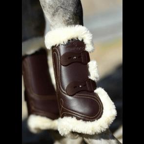Kentucky forbensgamacher læder og fåreskind brun