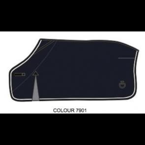 Cavalleria Toscana Fleece Rug Navy