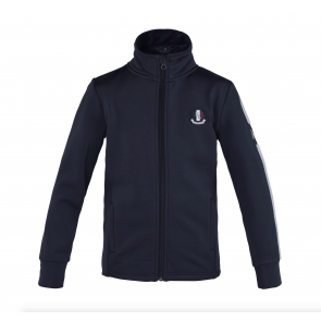 Kingsland Chip Fleece Jacket JR Navy