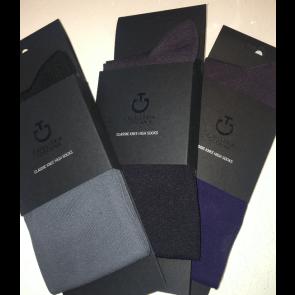 Cavalleria Toscana Classic Sock Grå/sort