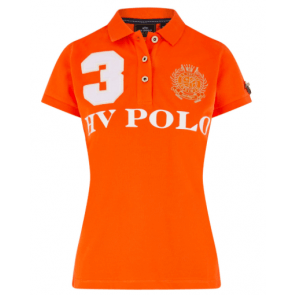Hv polo Favouritas kortærmet poloshirt orange