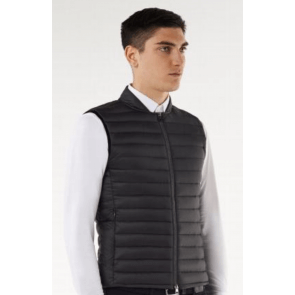 CT Nylon quilted Body Warmer Mørkegrå Herre