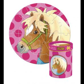 Sødt Mini-Pony Puslespil med ponyhoved