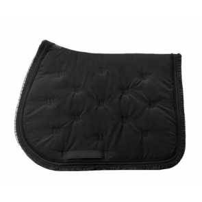 U Black - Black Lady Jumping Saddle Pad